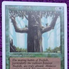 Trading Cards: 1X IRONROOT TREEFOLK - PUEBLO ARBÓREO RAICESLARGAS - 3RD ED - REVISED ED 1994 CARTAS MAGIC MTG. Lote 243930810