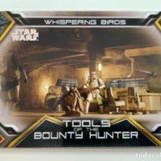 Trading Cards: TOPPS STAR WARS USATHE MANDALORIAN SERIE 1. TOOLS OF THE BOUNTY HUNTER. LIMITADAS. TB-6. Lote 244511620