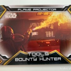 Trading Cards: TOPPS STAR WARS USATHE MANDALORIAN SERIE 1. TOOLS OF THE BOUNTY HUNTER. LIMITADAS. TB-4. Lote 244512110