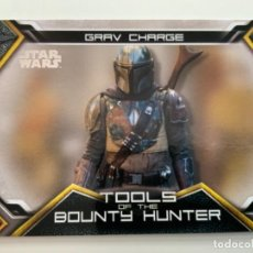 Trading Cards: TOPPS STAR WARS USATHE MANDALORIAN SERIE 1. TOOLS OF THE BOUNTY HUNTER. LIMITADAS. TB-3. Lote 244512275