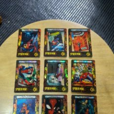 Trading Cards: SPIDER- MAN FILMCARDZ 2002, LOTE 13 TRADING CARDS (ARTBOX). Lote 244531445