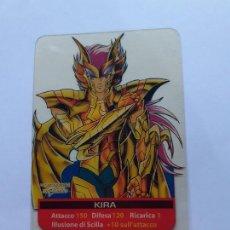 Trading Cards: LOS CABALLEROS DEL ZODIACO I CAVALIERI DELLO SAINT SEIYA LAMINCARDS EDIBAS 84. Lote 244952990