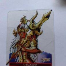 Trading Cards: LOS CABALLEROS DEL ZODIACO I CAVALIERI DELLO SAINT SEIYA LAMINCARDS EDIBAS 86. Lote 244952995