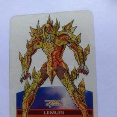 Trading Cards: LOS CABALLEROS DEL ZODIACO I CAVALIERI DELLO SAINT SEIYA LAMINCARDS EDIBAS 87. Lote 244953015