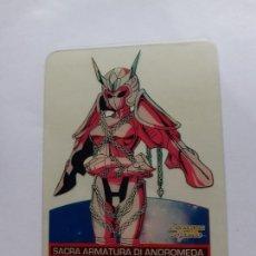 Trading Cards: LOS CABALLEROS DEL ZODIACO I CAVALIERI DELLO SAINT SEIYA LAMINCARDS EDIBAS 105. Lote 244953170