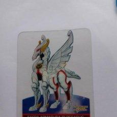 Trading Cards: LOS CABALLEROS DEL ZODIACO I CAVALIERI DELLO SAINT SEIYA LAMINCARDS EDIBAS 106. Lote 244953175