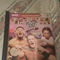 Trading Cards: COLECCIÓN COMPLETA WWE LAMINCARDS 2007 150 CARDS DIFERENTES. Lote 244953285