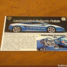 Trading Cards: 291 ERROR A TODO GAS 2012 MUNDICROMO. Lote 245115900