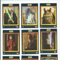 Trading Cards: STAR WARS EPISODO 1 : SET DE 20 TRADING CARDS DE PERSONAJES. PUBLICADO EN 1999 Y PATROCINADO POR KFC. Lote 245557825