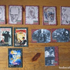 Trading Cards: HAMMER HORROR IV - BEHIND THE SCREAMS - CHASE CARDS - TRANSITION, MAGAZINE Y PRIZE RARE CARDS. Lote 245568030