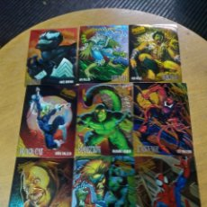 Trading Cards: FLEER ULTRA SPIDER-MAN ESPECIALES (LOTE 17 CARDS). Lote 245581335