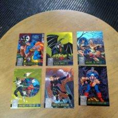 Trading Cards: POWER BLAST LOTE DE 6 CARDS 1-3-6-7-8-9 (AMALGAM CLASSICS 1996). Lote 245586340