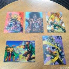 Trading Cards: WILDSTORM SET II LOTE DE 5 ESPECIALES BATTLE-MOTION. Lote 245588425
