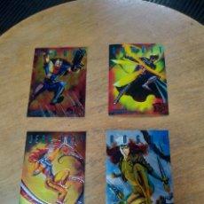 Trading Cards: SINISTER OBSERVATIONS LOTE DE 4 CARDS 2-4-6-8 (FLEER ULTRA X-MEN 1995). Lote 245591355