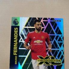 Trading Cards: TRADING CARD CROMO BRUNO FERNANDES EDICIÓN LIMITADA ADRENALYN XL PREMIER LEAGUE PANINI 2020 2021. Lote 245592365