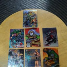 Trading Cards: CIBER FORCE LOTE DE 21 CARDS (TOPS 1995). Lote 245592645