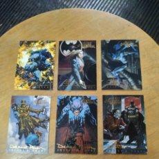Trading Cards: BATMAN MASTER SERIES (EDICIÓN FIRMADA) LOTE 6N° (SKYBOX). Lote 245595865