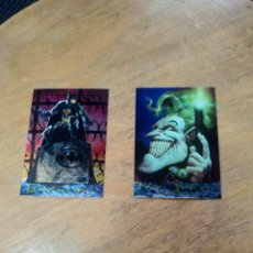 Trading Cards: BATMAN MASTER SERIES LOTE 2 ESPECIALES (SKYBOX). Lote 245596460