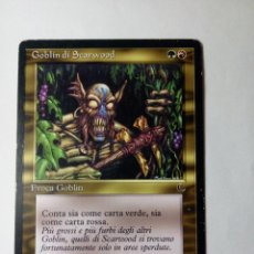 Trading Cards: MTG GOBLIN DI SCARWOOD / SCARWOOD GOBLIN - THE DARK EDICION ITALIANA. Lote 246170985