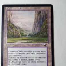 Trading Cards: MTG VALLE ESCONDIDO / SHELTERED VALLEY - ALLIANCES. Lote 246172150