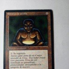 Trading Cards: MTG ESTATUA DE ARCILLA / CLAY STATUE - CUARTA EDICION. Lote 246172815