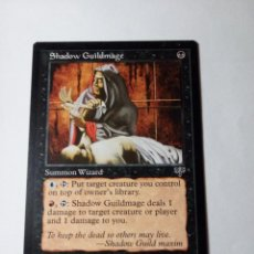 Trading Cards: MTG SHADOW GUILDMAGE - MIRAGE. Lote 246175155