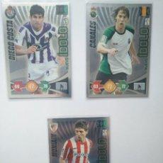 Trading Cards: 3 NUEVO IDOLO ADRENALYN XL 2009 2010 09 10 CANALES MUNIAN Y DIEGO COSTA. Lote 246255860