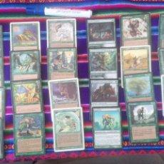 Trading Cards: 24 CARTAS VERDES. MTG MAGIC THE GATHERING #MG0023. Lote 246677575