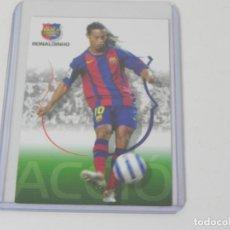 Trading Cards: MEGACRACKS 2004/2005 - BARÇA CAMPIÓ (RONALDINHO) Nº 49 - F.C. BARCELONA - PANINI. Lote 247948535