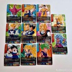 Trading Cards: 11 TARJETAS DRAGON BALL Z. Lote 249581875