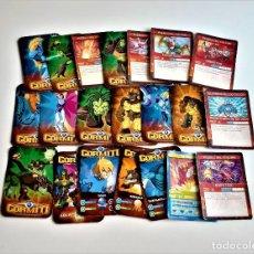 Trading Cards: LOTE DE TARJETAS GORMITI VARIAS. Lote 253034935