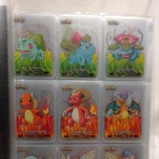 Trading Cards: ÁLBUM COMPLETO POKÉMON LAMINCARDS PRIMERA GENERACIÓN 2005 FALTAN TAPAS. Lote 253343845