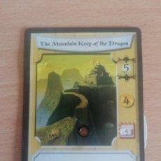 Trading Cards: MUY RARA CARTA THE MOUNTAIN KEEP OF THE DRAGON. L5A #LA0014. Lote 254349900