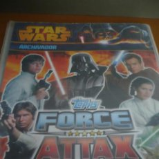 Trading Cards: ALBUM STAR WARS FORCE ATTAX, TRADING CARDS - FALTAN MUY POCOS CROMOS. Lote 254745425