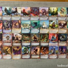 Trading Cards: LOTE DE 36 CARTAS FANTASY RIVERS. Lote 255966755
