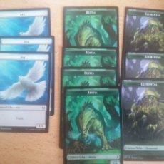 Trading Cards: LOTE 10 CARTAS CRIATURA FICHA MAGIC THE GATHERING MTG #MTG0049 ED.COMMANDER: ZENDIKAR RISING. Lote 257485030