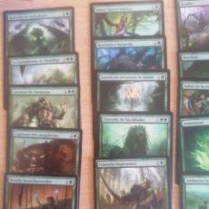 Trading Cards: LOTE 25 CARTAS VERDES MAGIC THE GATHERING MTG #MTG0050. Lote 257486395