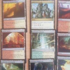 Trading Cards: LOTE 15 CARTAS TIERRA Y TIERRA/PORTAL MAGIC THE GATHERING MTG #MTG0052. Lote 257486995
