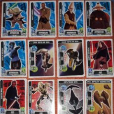 Trading Cards: LOTE 80 CARTAS STAR WARS FORCE ATTAX. Lote 257556730
