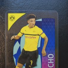 Trading Cards: JADON SANCHO 35 2018 2019 CHAMPIONS LEAGUE ROOKIE CARD TOPPS CRYSTAL BORUSSIA DORTMUND. Lote 257841650
