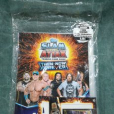Trading Cards: TOPPS SLAM ATTAX TRADING CARD GAME - THEN NOW FOREVER - WRESTLEMANIA - PRECINTADO. Lote 260303900