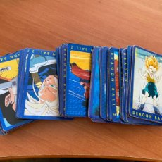 Trading Cards: DRAGON BALL Z SERIE AZUL LOTE 80 CARDS (CRI1). Lote 295405983