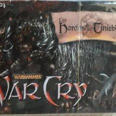 Trading Cards: WARCRY - LAS HORDAS DE LAS TINIEBLAS WARHAMMER. Lote 262126915