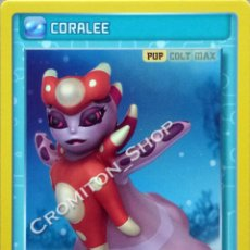 Figurine Collezionabili: Nº 115 CORALEE - INVIZIMALS - BATALLA DE CAZADORES PANINI. Lote 262950405