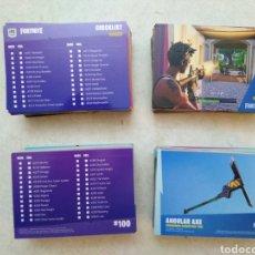 Trading Cards: LOTE DE 173 CARTAS DIFERENTES FORTNITE ( PANINI ). Lote 264084430