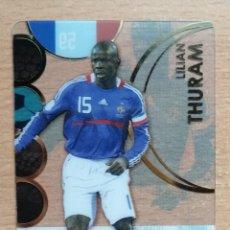 Trading Cards: LILIAN THURAM UEFA EURO 2008 59 FRANCIA ULTRA CARD. Lote 264104345