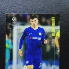 Trading Cards: MASON MOUNT CARD TOPPS MESSI SET 2020 UEFA CHAMPIONS LEAGUE CHELSEA FC. Lote 264117470