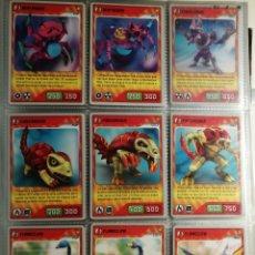 Trading Cards: LOTE DE 415 CARDS INVIZIMALS DESAFIOS OCULTOS CON DIAMANTE, ORO, PLATA Y METAL. LEER DESCRIPCION. Lote 264178756