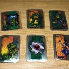 Trading Cards: CROMOS. COLECCIÓN COMPLETA TORTUGAS NINJA TMNT LAMINCARDS, EDIBAS-MUNDICROMO 2005. Lote 265657444