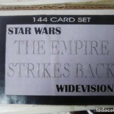 Trading Cards: TRADING CARDS STAR WARS THE EMPIRE STRIKES BACK (144 CARDS) TOPPS WIDEVISION - SUB01Q. Lote 265795129